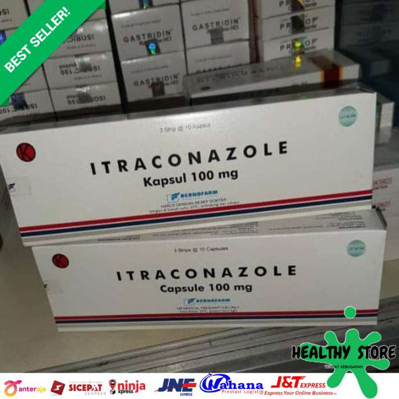 ITRACONAZOLE 100 mg Per Strip ORIGINAL