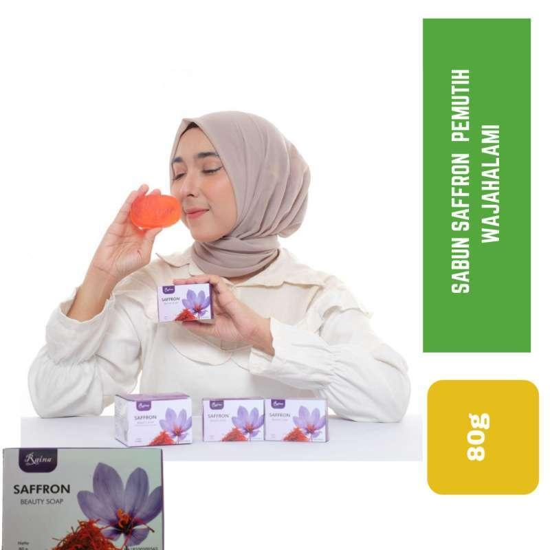 Jual Sabun Saffron Sabun Pemutih Wajah Pemutih Badan Ampuh Sabun Saffron Grade Aa Raina Online Maret 2021 Blibli