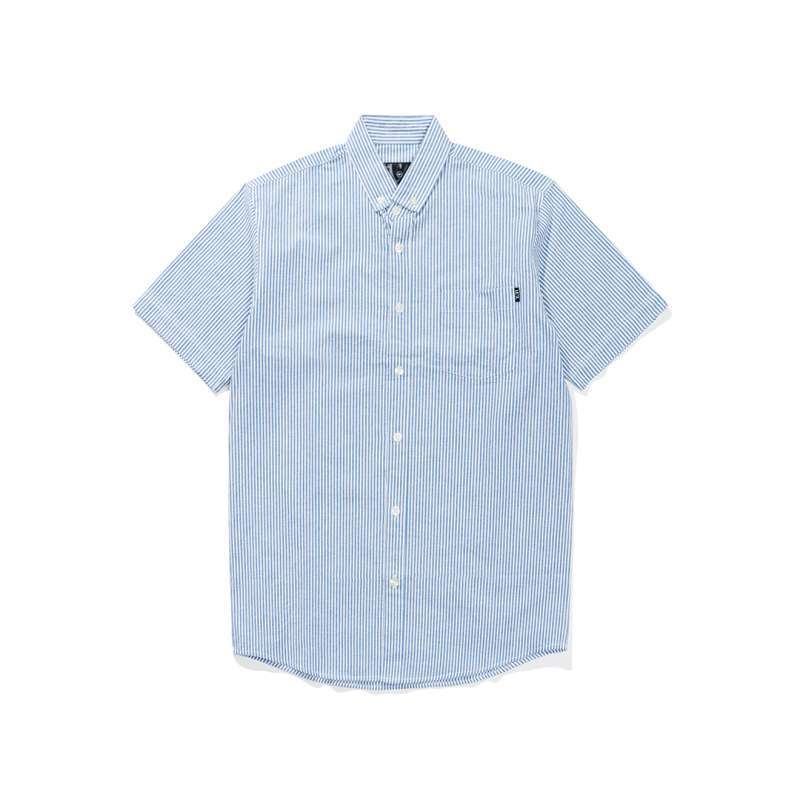 https www static src com wcsstore Indraprastha images catalog full 105 MTA 9387177 leaf_leaf_stripes_ _white navy_shirt_full01_nv3imqux jpg