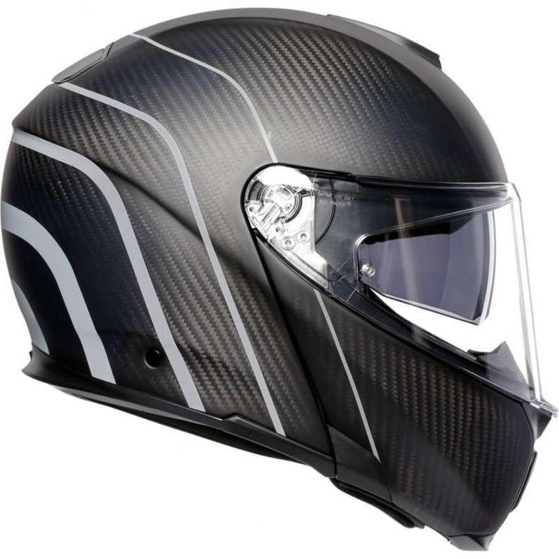 Jual Helm Agv Sport Modular Carbon Refractive Black Helmet Online Maret 2021 Blibli