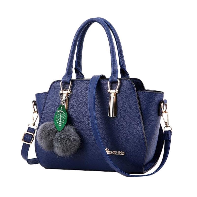 Annies Fashion Wiolletha Tas Wanita - Dark Blue