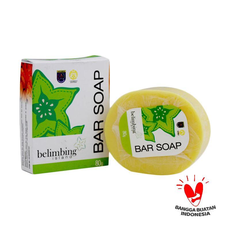 Belimbing Island Bar Soap Sabun Mandi [80 g]
