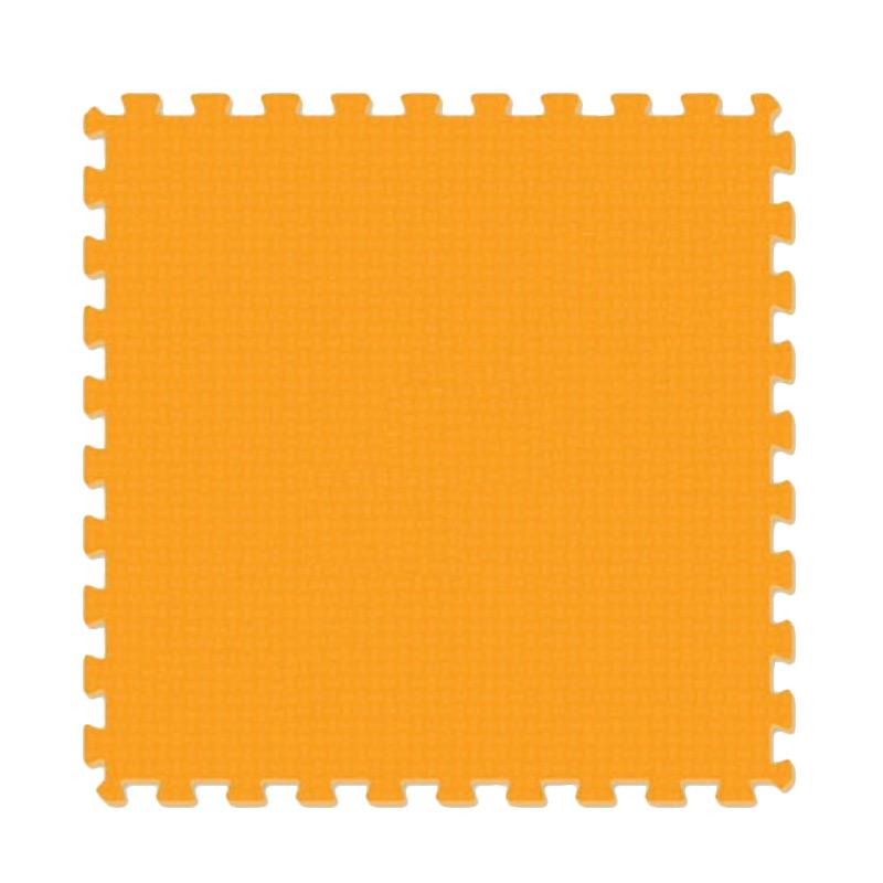Evamat Puzzle Polos Alas Lantai - Orange [30 x 30 cm]