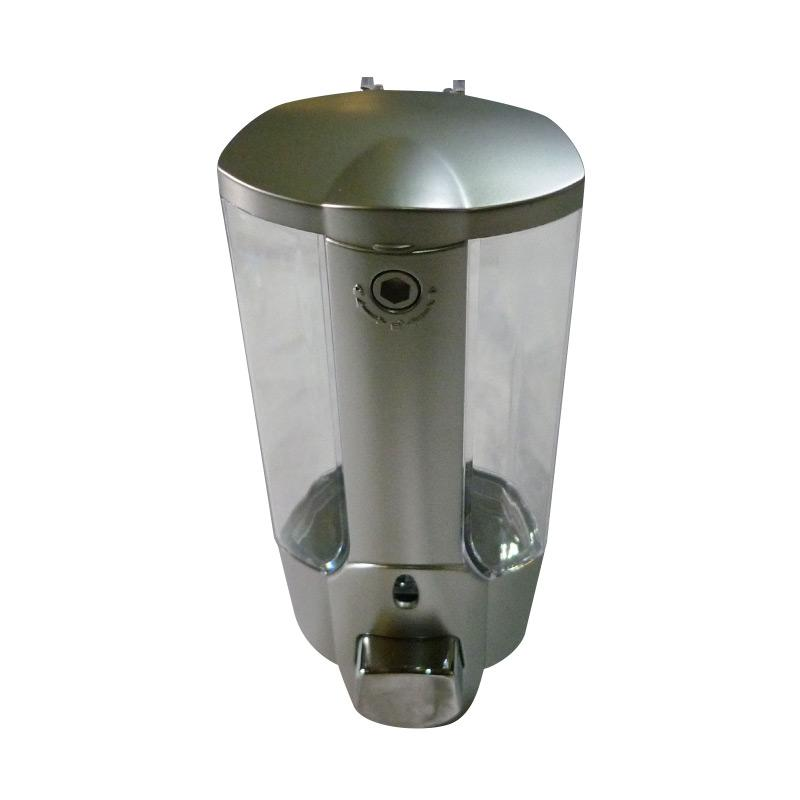 Gogo Model Soap Dispenser Tempat Sabun - Silver [1 Tabung]