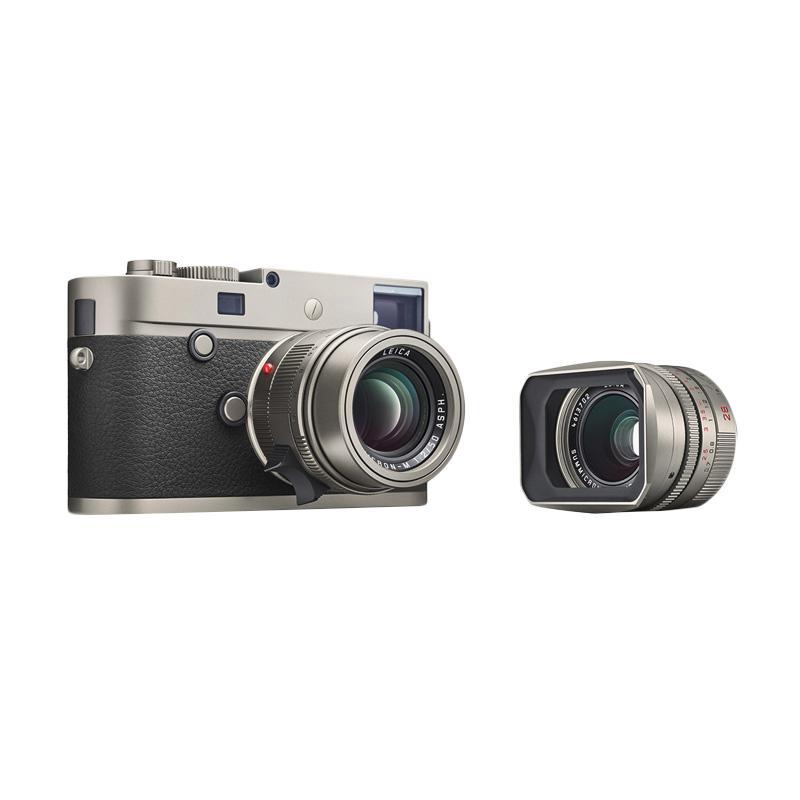 Leica M-P TYP 240 Set Kamera Mirrorless - Titanium