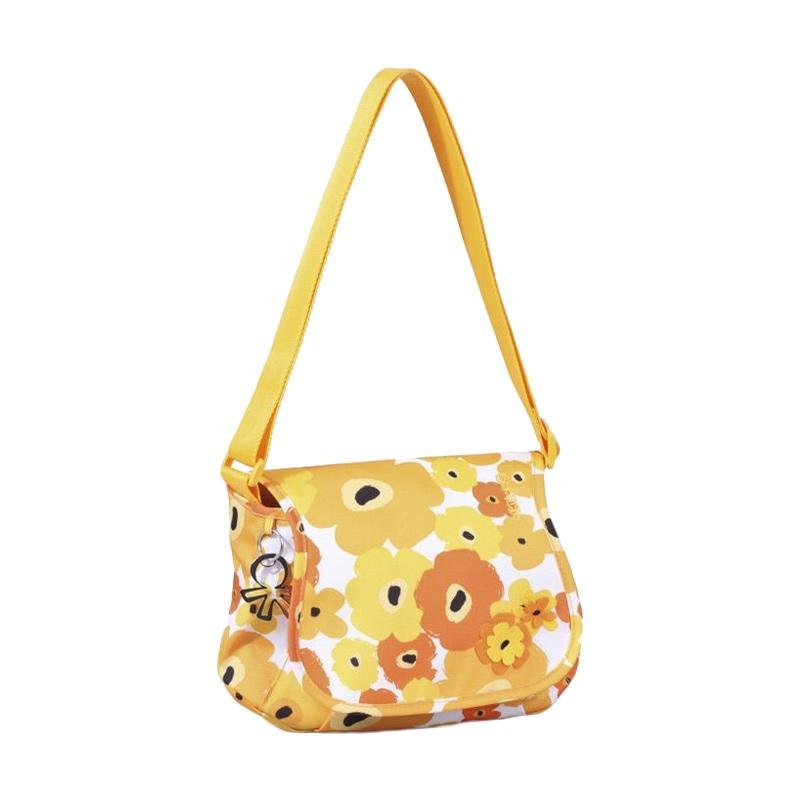Okiedog Genie Flower Power Diaper Bag - Yellow