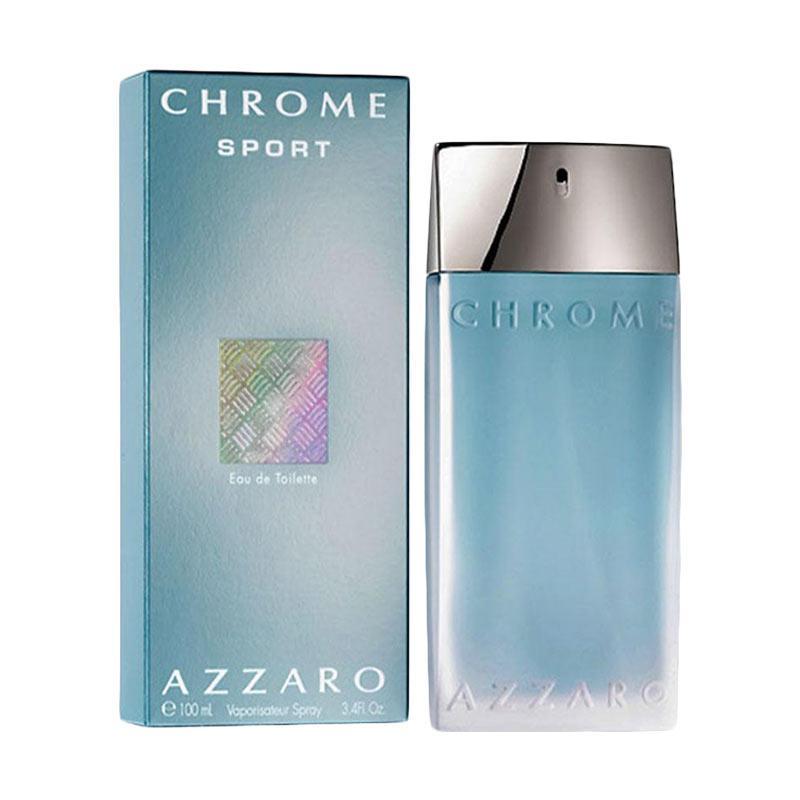 Azzaro Chrome Sport for Men EDT Parfum [100 mL]