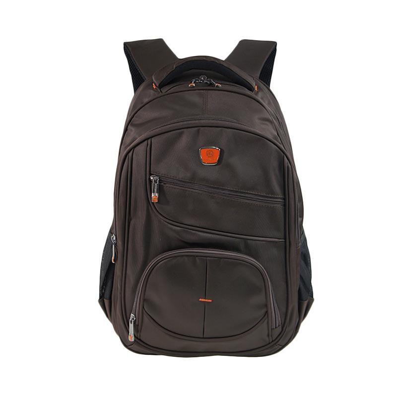 Bruno Manfred Backpack Tas Pria J086-34 - Coffee