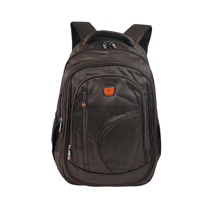 Bruno Manfred Backpack Tas Pria J087-34 - Coffee