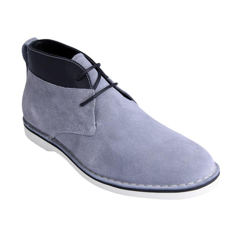 Ftale Footwear Branson Suede Mens Shoes - Grey