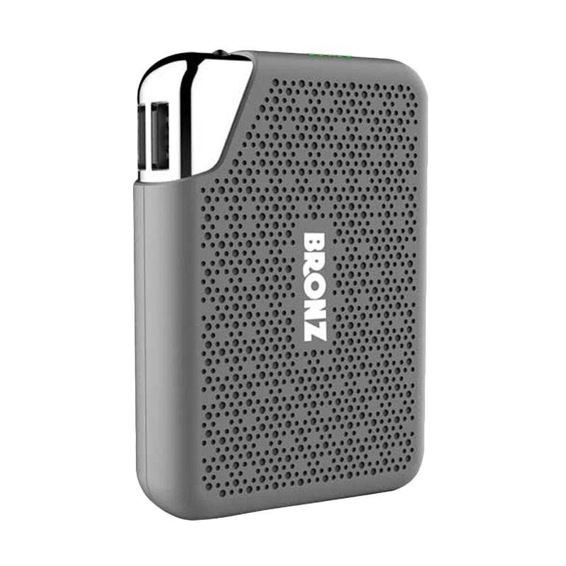 HIPPO Bronz Powerbank - Abu-abu [7500 mAh/Simple Pack]