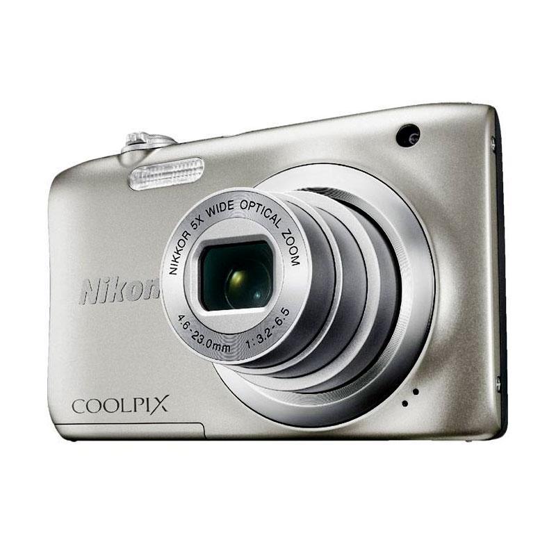 harga Nikon Coolpix A100??Kamera Pocket - Silver Blibli.com