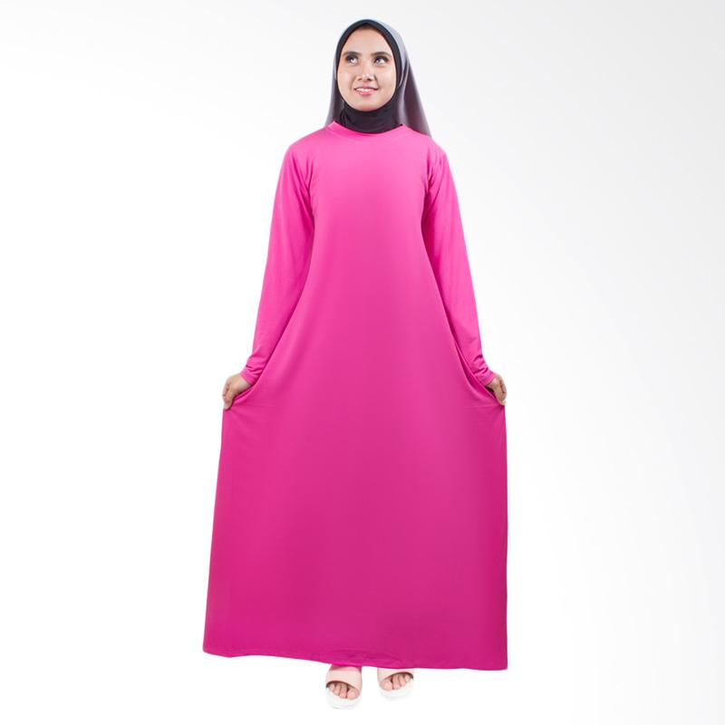 Yovis Long Sleeve Jersey Gamis - Soft Pink