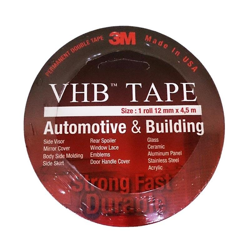 3M VHB Automotive 4900 Double Tape [T1.1 mm/Size 12 mm x 4.5 m]