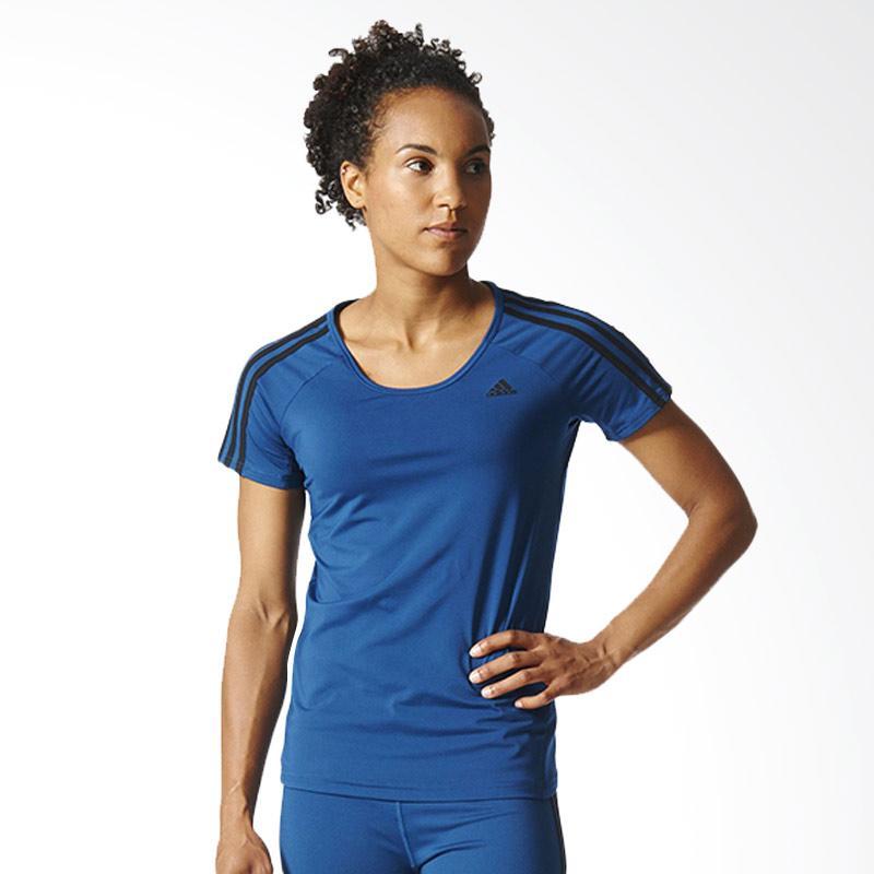 adidas Basic 3S P Tee Women Baju Olahraga Wanita AY7827