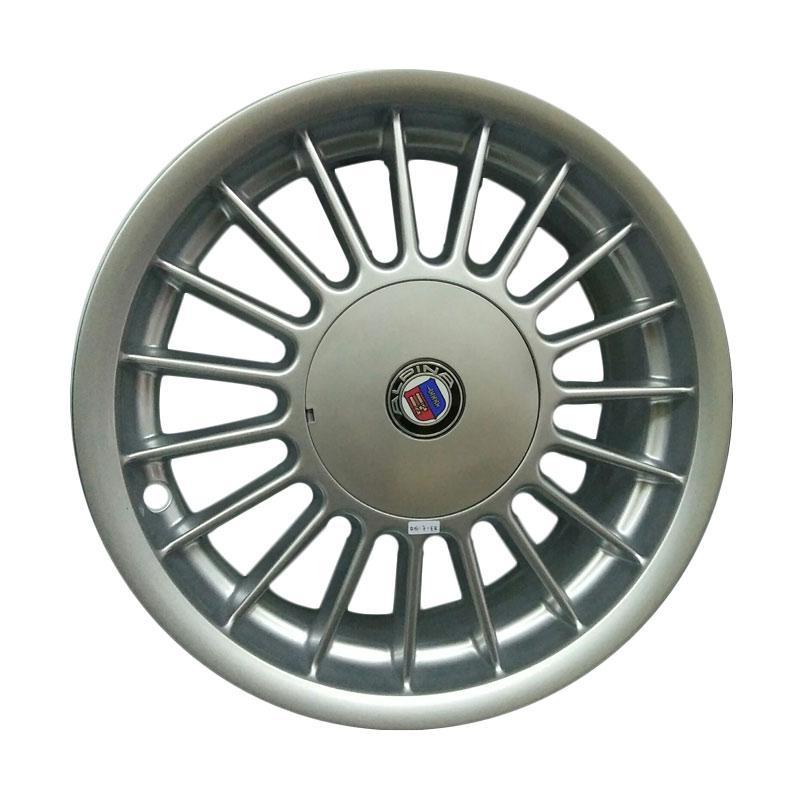 harga Alpina TJB Replika Baud 4 Velg Mobil - Silver [r15 pcd 100 & 114] Blibli.com