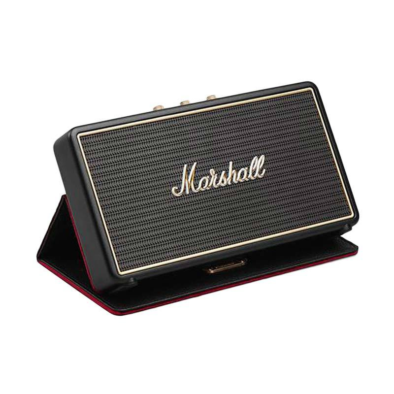 Marshall Stockwell With Flip Cover - Hitam