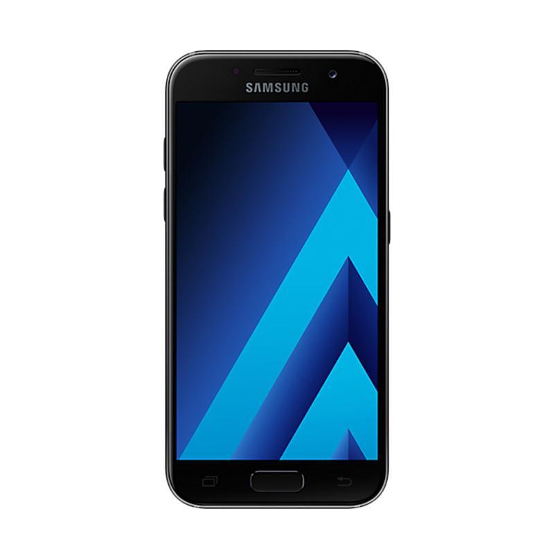Samsung Galaxy A3 2017 SM-A320 Smartphone - Black [16 GB/2 GB] - 9284322 , 15441665 , 337_15441665 , 3780000 , Samsung-Galaxy-A3-2017-SM-A320-Smartphone-Black-16-GB-2-GB-337_15441665 , blibli.com , Samsung Galaxy A3 2017 SM-A320 Smartphone - Black [16 GB/2 GB]