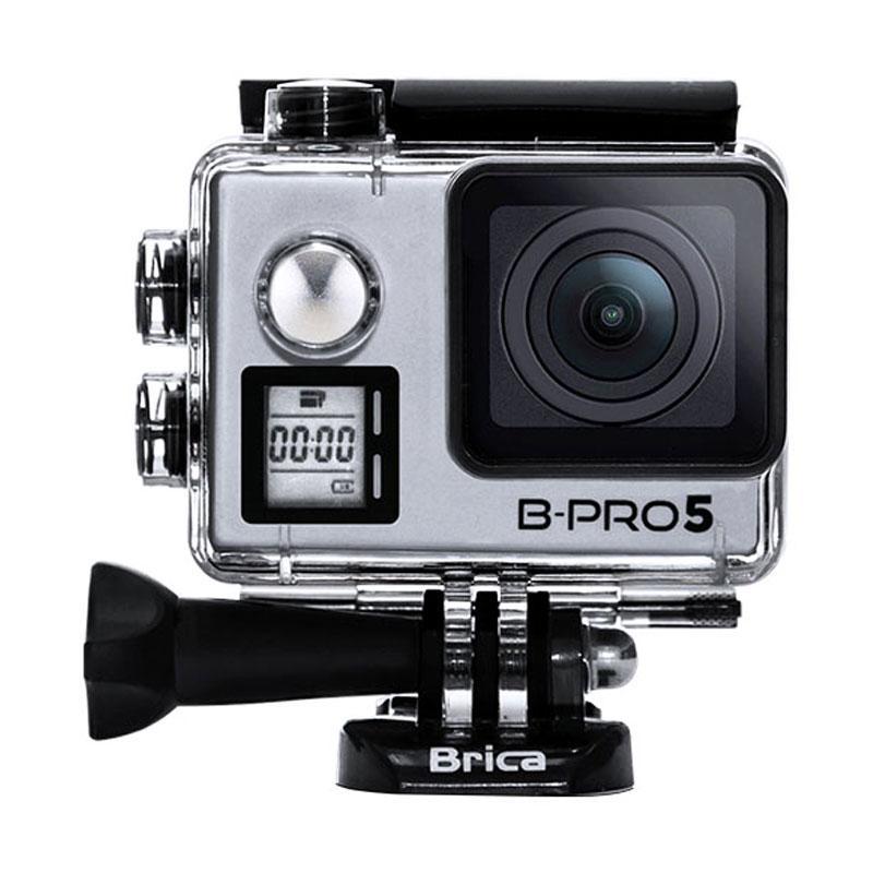 harga BRICA B-Pro5 Alpha Edition 4K Mark IIs (AE2s) SILVER + Sticker B-Pro + Sandisk Ultra 16Gb Speed48 Class10 + Tongsis Attanta SMP-07 Original + Phone Clip Blibli.com