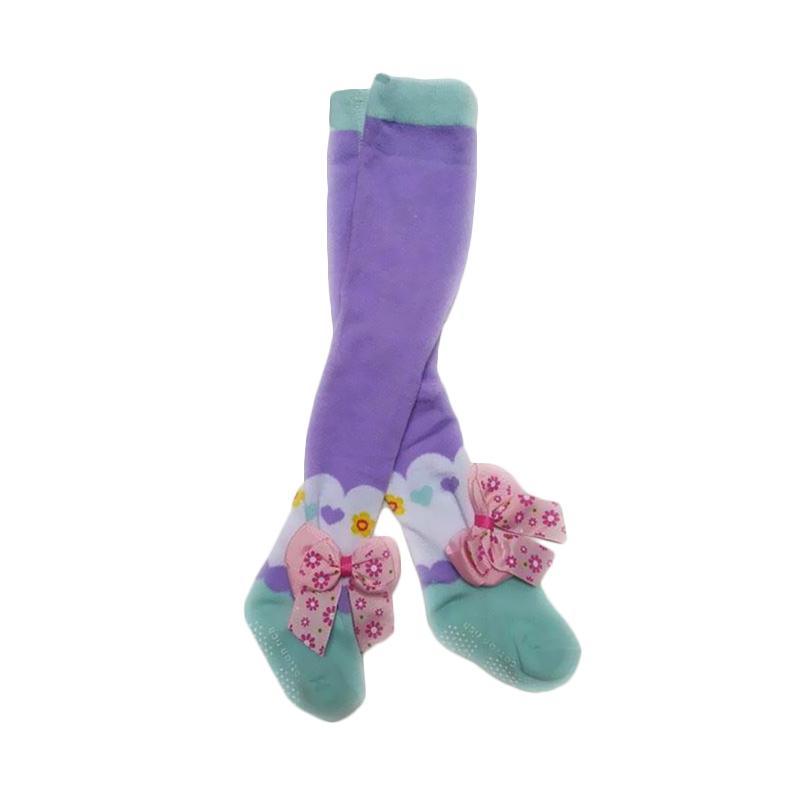 Chloe Babyshop Ribbon J Legging - Purple