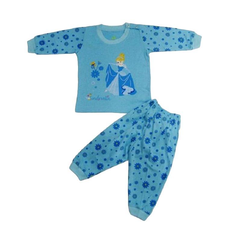 Disney Pajamas Cinderella Baju Tidur Anak - Biru