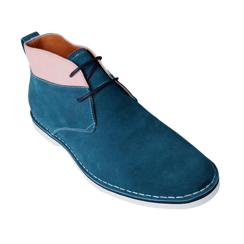 Ftale Footwear Branson Suede Mens Shoes - Green
