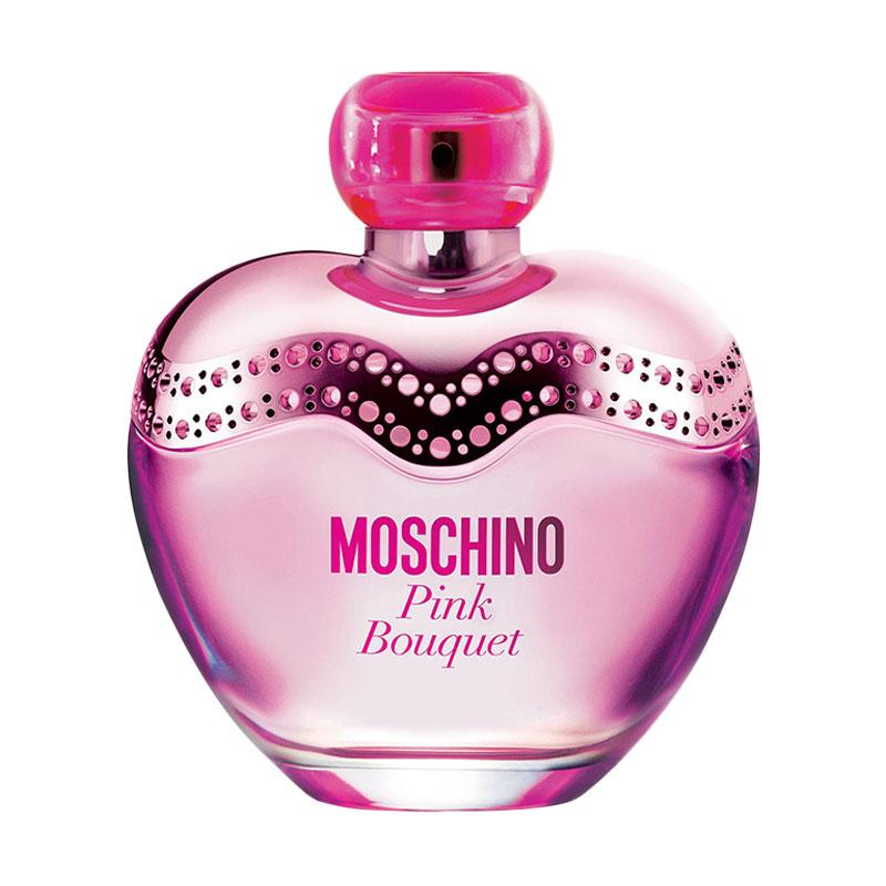 Moschino Pink Bouquet EDT Parfum Wanita [100 mL]