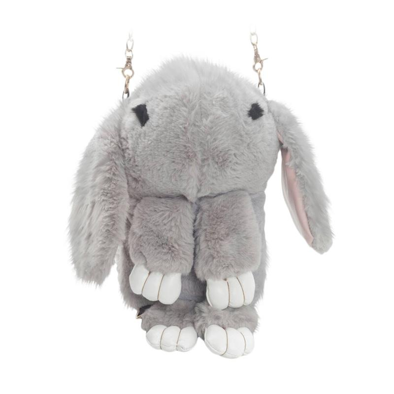 harga Paroparoshop Rabbito Slingbag - Grey Blibli.com