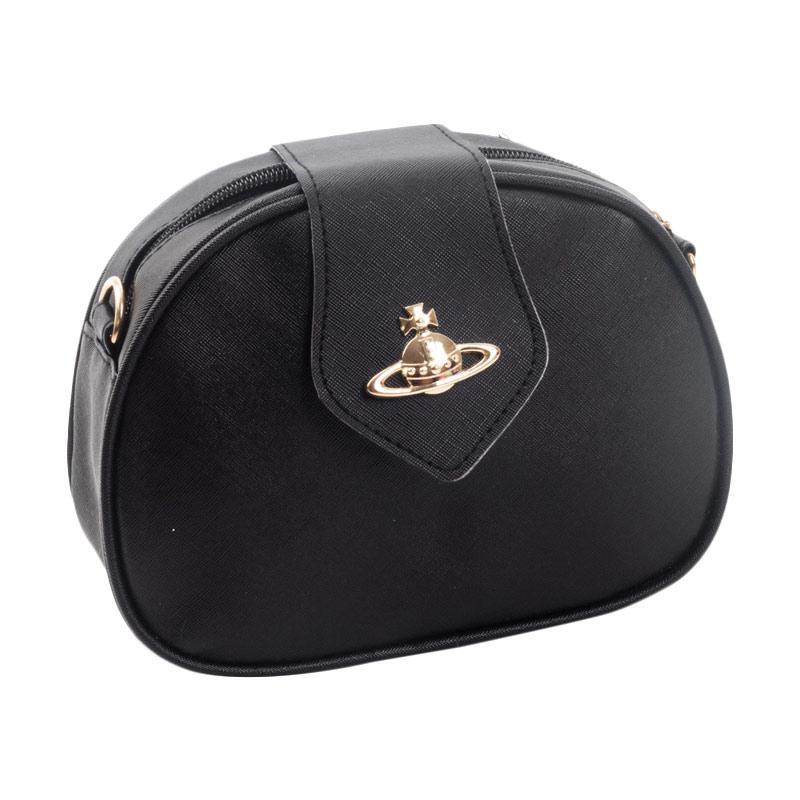 harga Paroparoshop Saturn Slingbag - Black Blibli.com