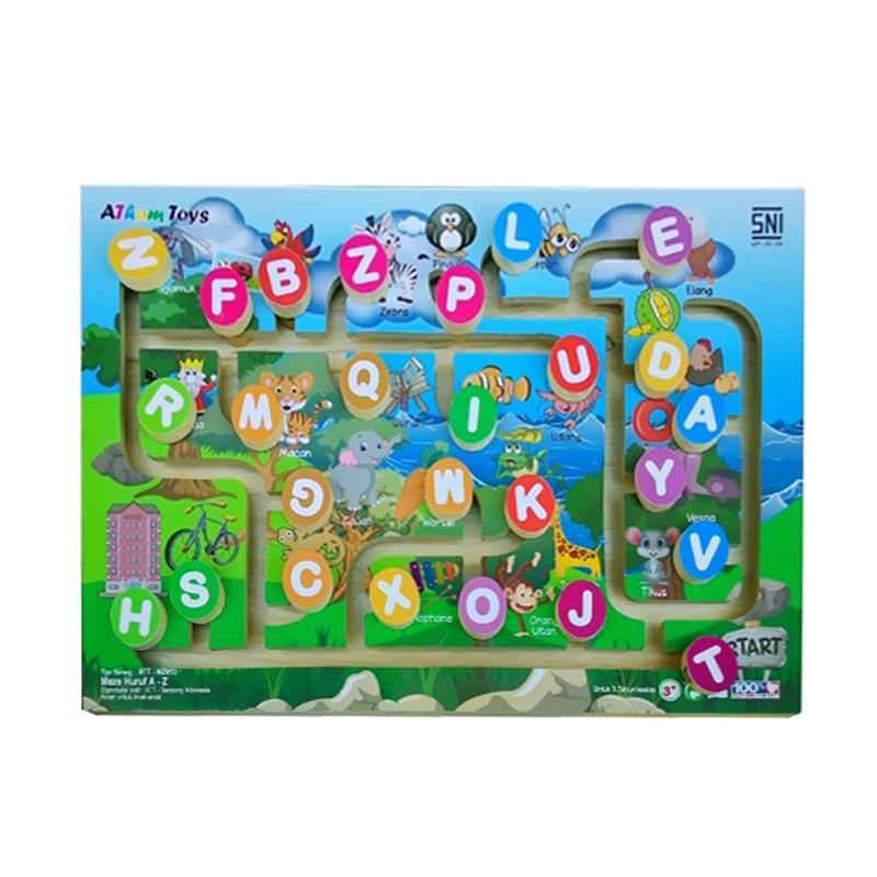 Istana Bintang Maze Huruf Mainan Anak