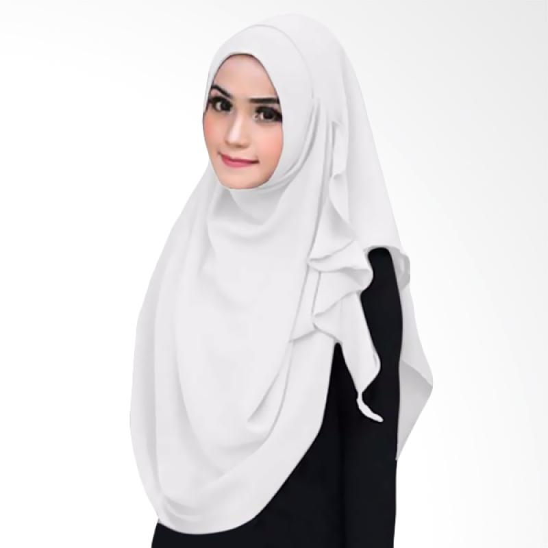 Kus Group Flowing Hijab Instant - white