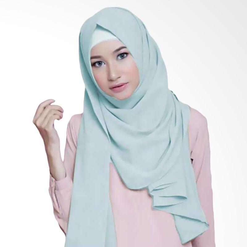 Kus Group Hijab Diamond Pashmina - Baby Blue