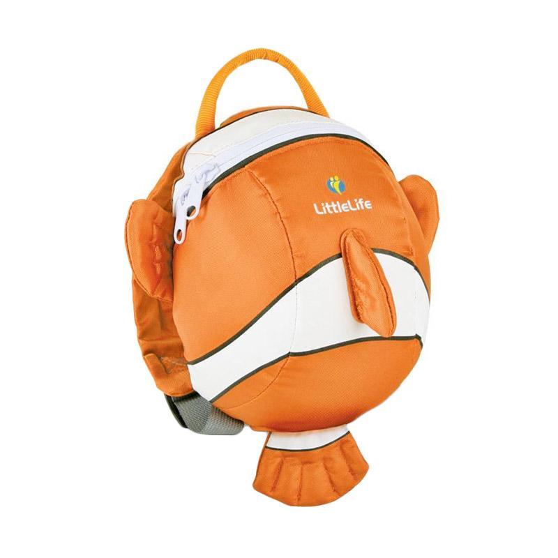 ittle Life Daysack with Rein Clownfish Tas Sekolah Anak