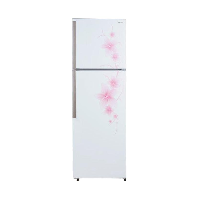 SHARP SJ450GDFW Two Door Refrigerator Kulkas