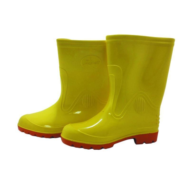 harga Steffi Karet Sepatu Boots - Kuning [Tinggi 29.5 cm] Blibli.com