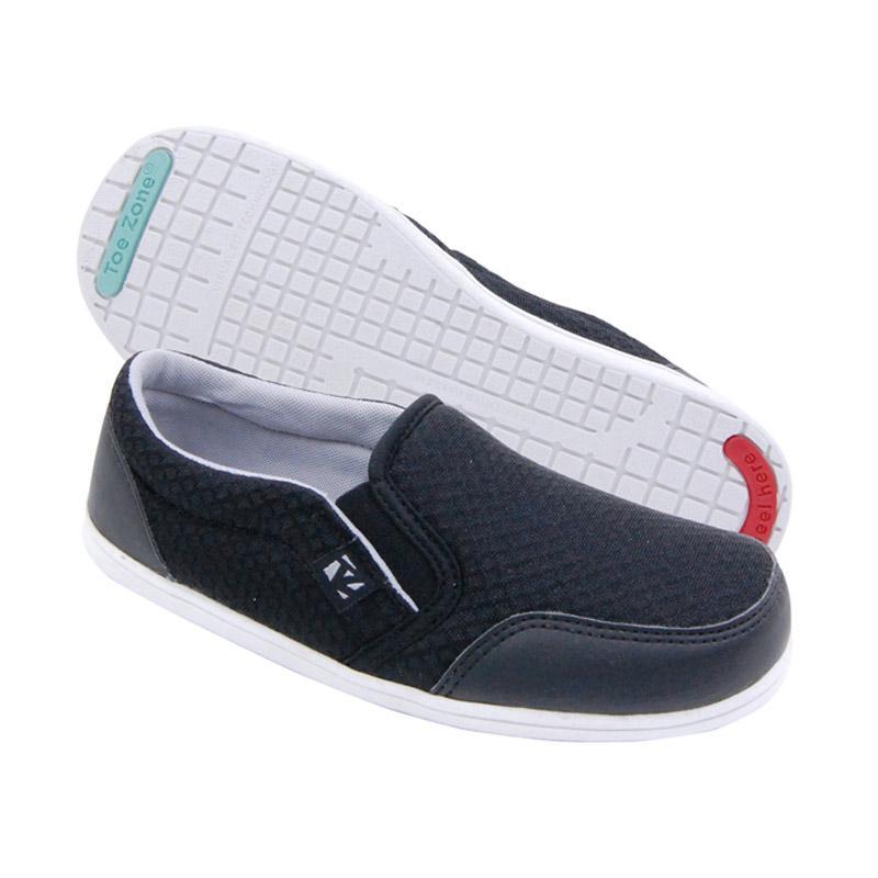 Toezone Kids Tampa Flex Yt Sepatu Anak - Black Grey