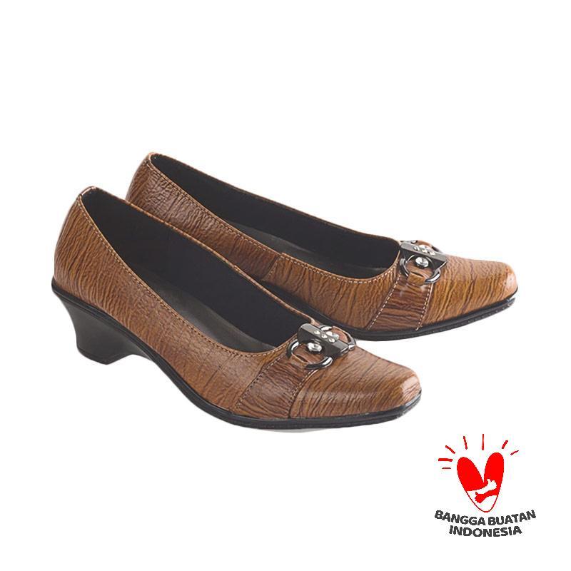 Blackkelly LDX 151 Sepatu Formal Wanita - Coklat