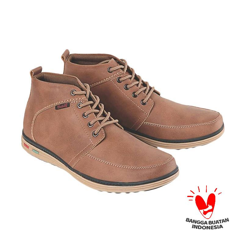 Blackkelly LSA 575 Sepatu Kasual Pria - Coklat