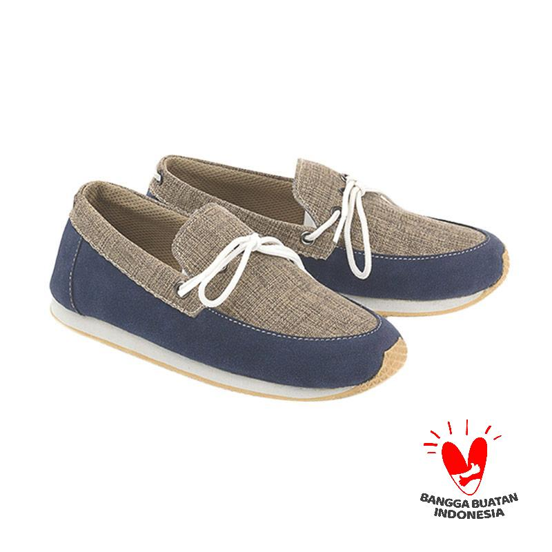 Blackkelly Kelsey LZE 543 Sepatu Casual Anak Laki-laki - Navy Grey