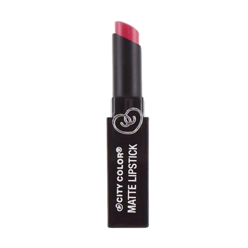 City Color Matte Lipstick - Rosy Mauve