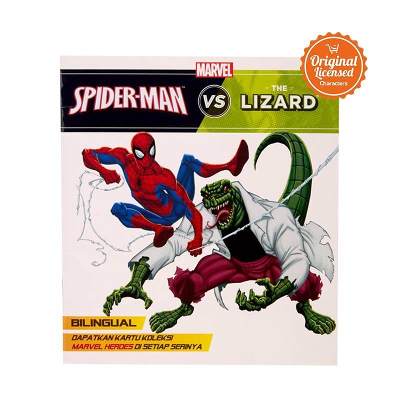 harga Marvel Spider Man vs The Lizard Story Book Blibli.com
