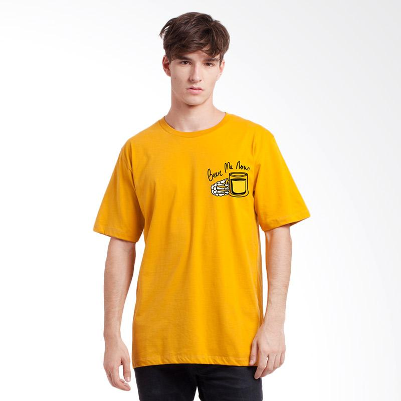 harga Monstore BEE1703001YEL0 Beer Me Now Tee - Yellow Blibli.com