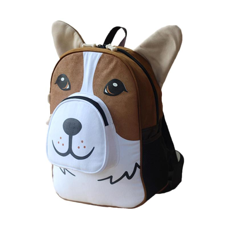 Mydog Indonesia Corgi Backpack - Coklat
