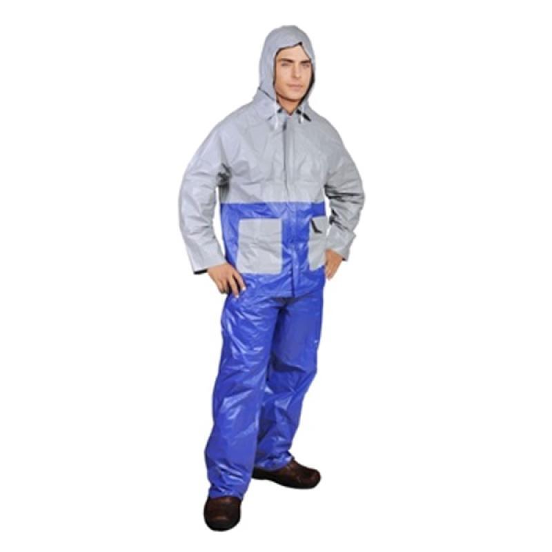Rainwear Premium Kombinasi Jas Hujan - Biru