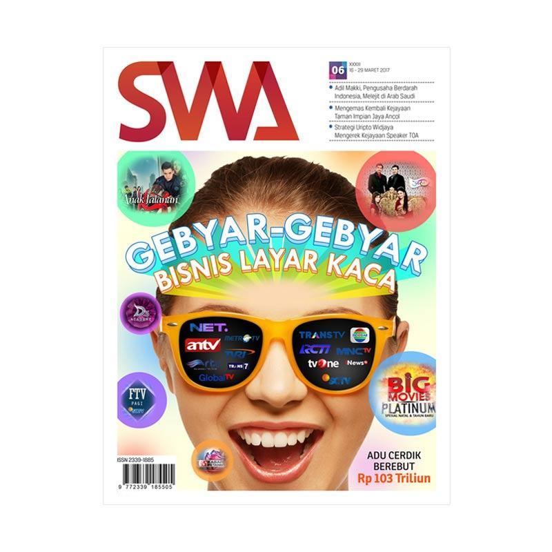 SWA edisi 06 2017/16 - 29 Maret 2017 Gebyar-Gebyar Bisnis Layar Kaca Majalah