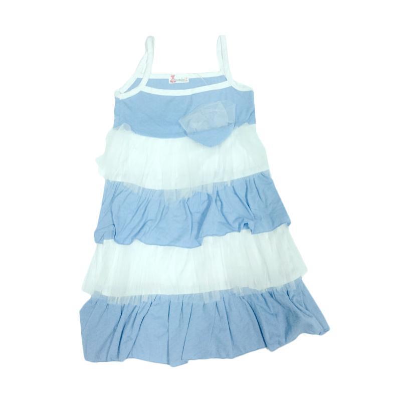 Tiny Button Toddler Girl Dress Anak