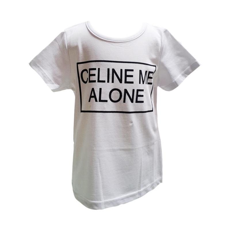 Chloe Babyshop Tshirt Celine Me Alone C29 Atasan Anak