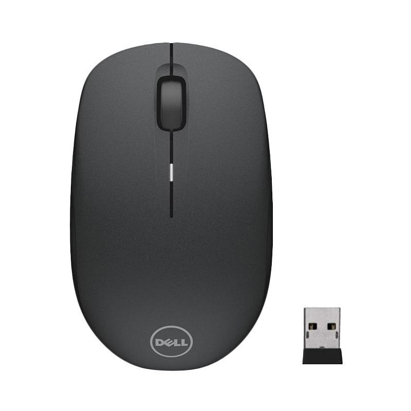 Dell WM126 Original Optical Mouse Wireless - Hitam