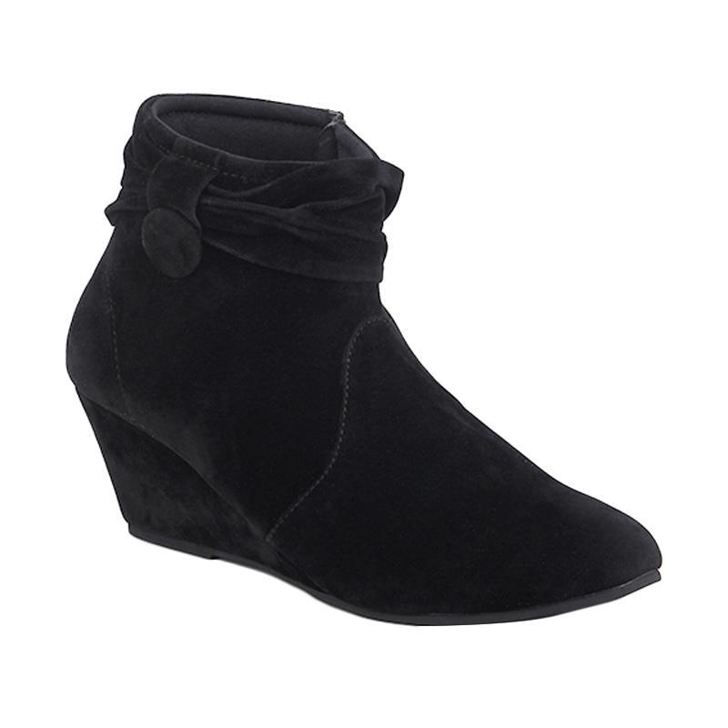 harga Fav Shoes Junki Wedges Sepatu Wanita - Black Blibli.com