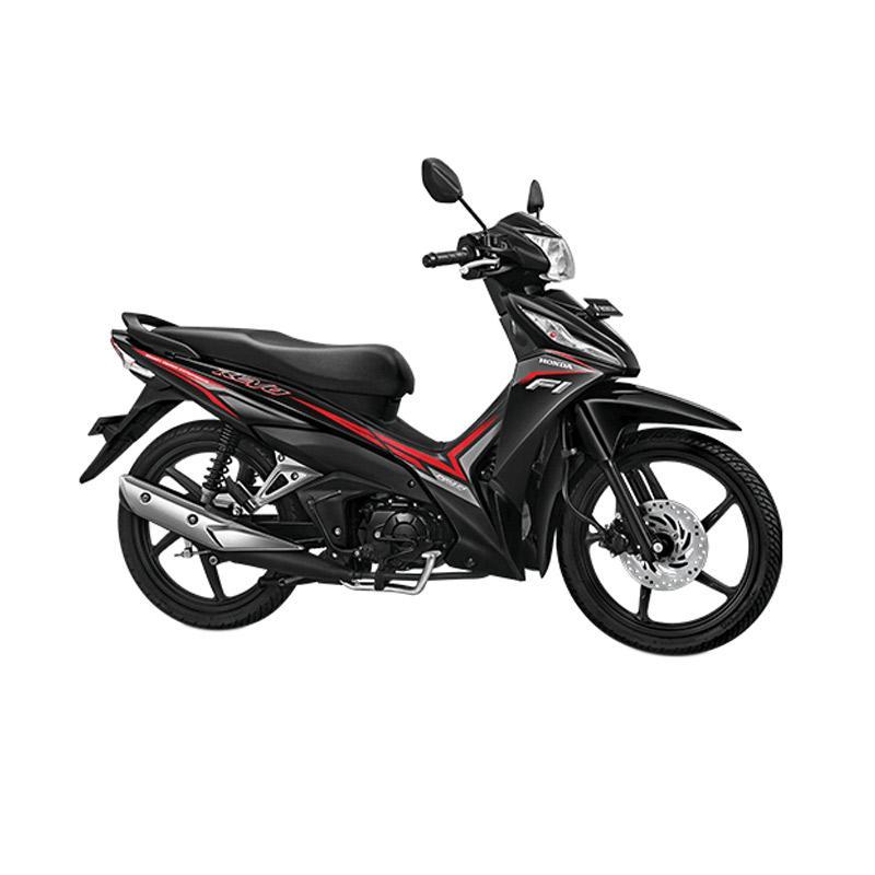 Honda New Revo FI 110 CW Sepeda Motor - Quantum Black Extra diskon 7% setiap hari Extra diskon 5% setiap hari Citibank – lebih hemat 10%